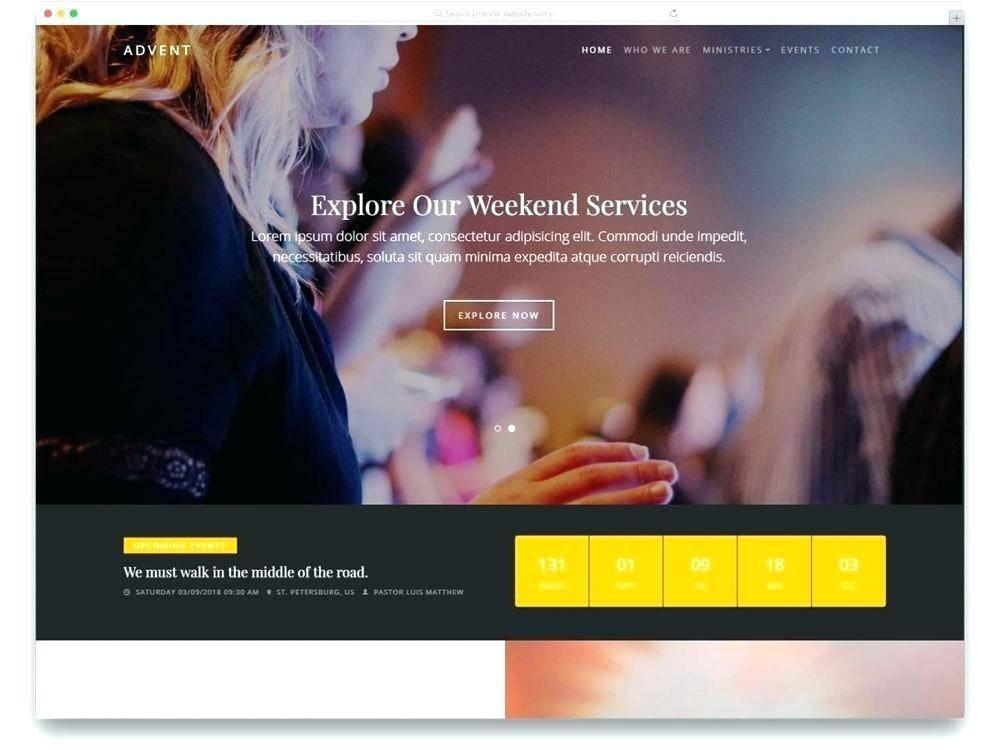 Vertical Scrolling Website Template Free Download