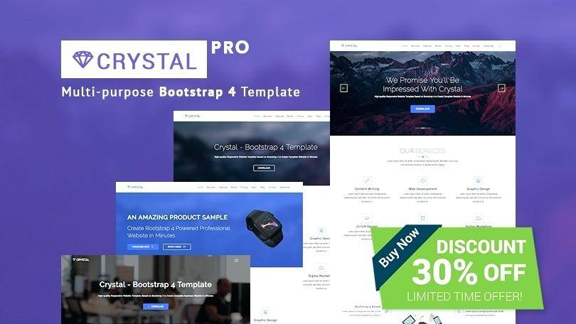 Video Landing Page Bootstrap Template