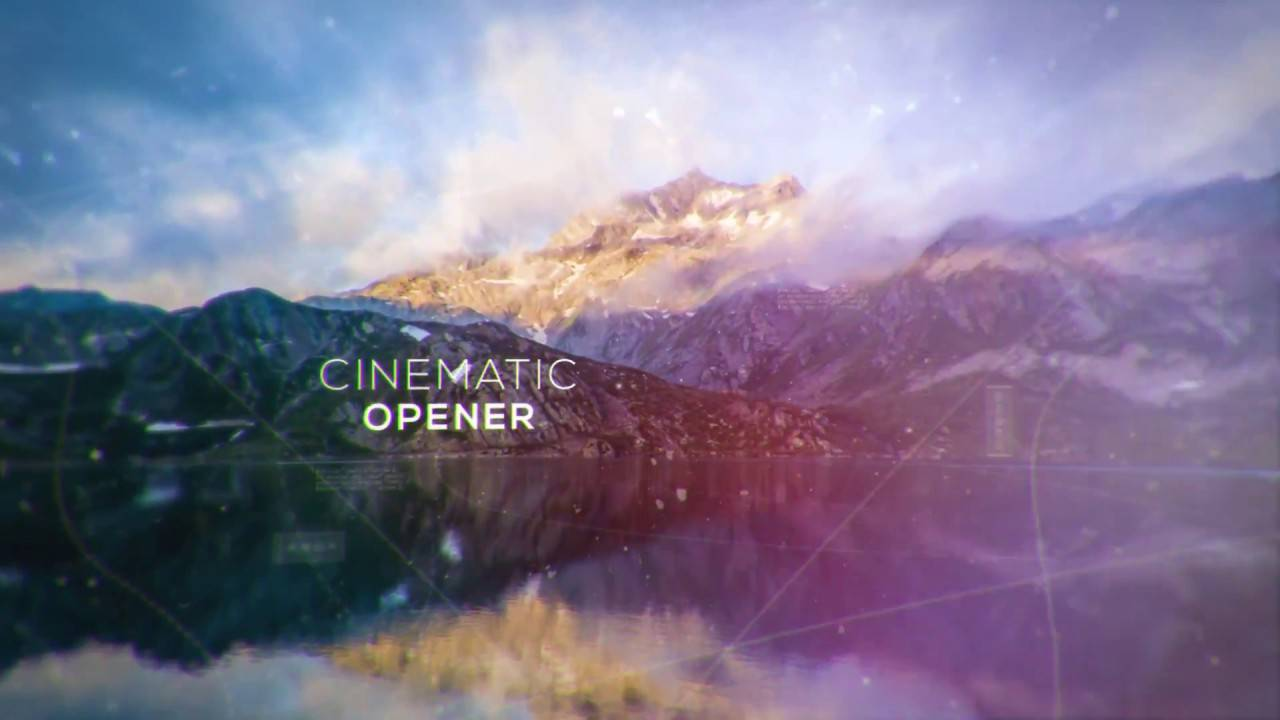 Videohive Cinematic Slideshow After Effects Templates