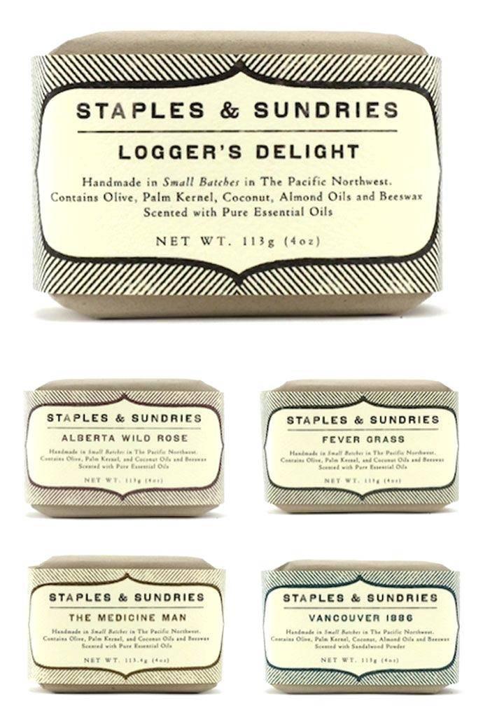 Vintage Soap Labels Template