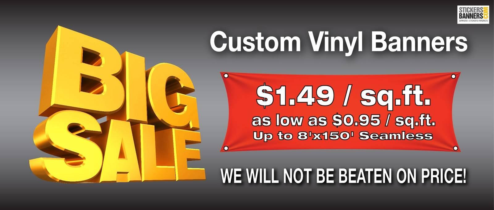 Vinyl Banner Templates