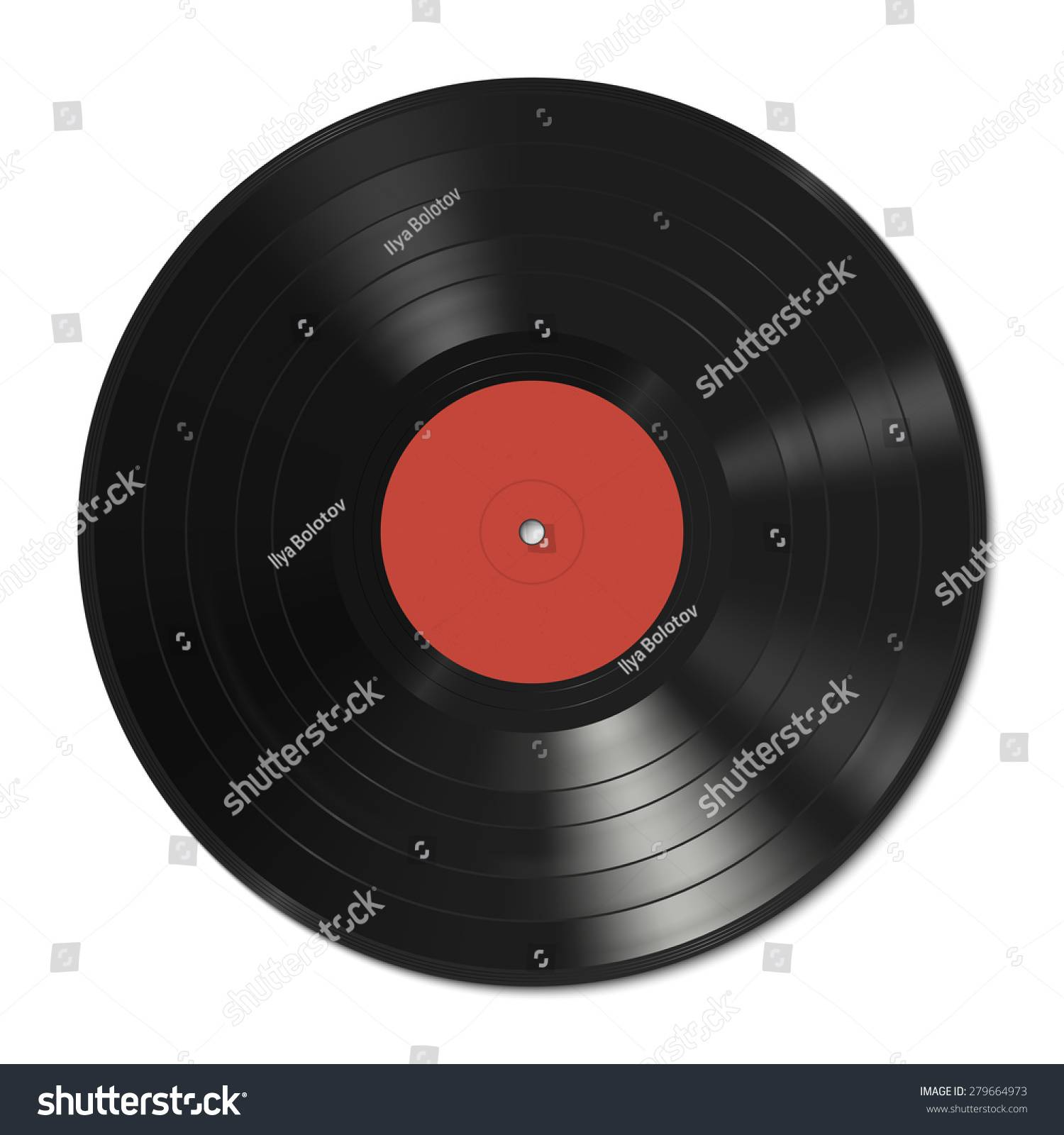 Vinyl Record Label Template Free