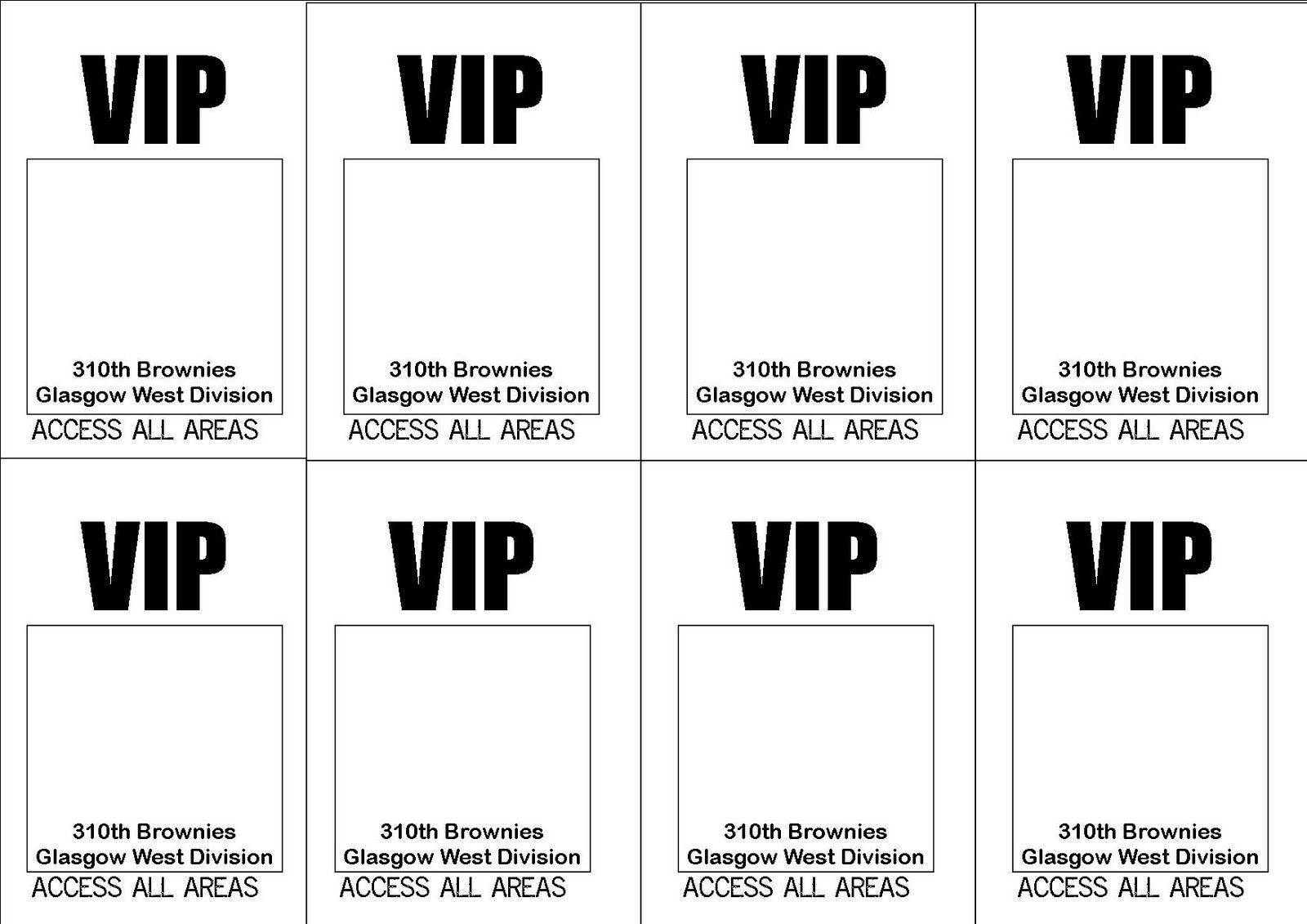 Vip Badge Template Free Download