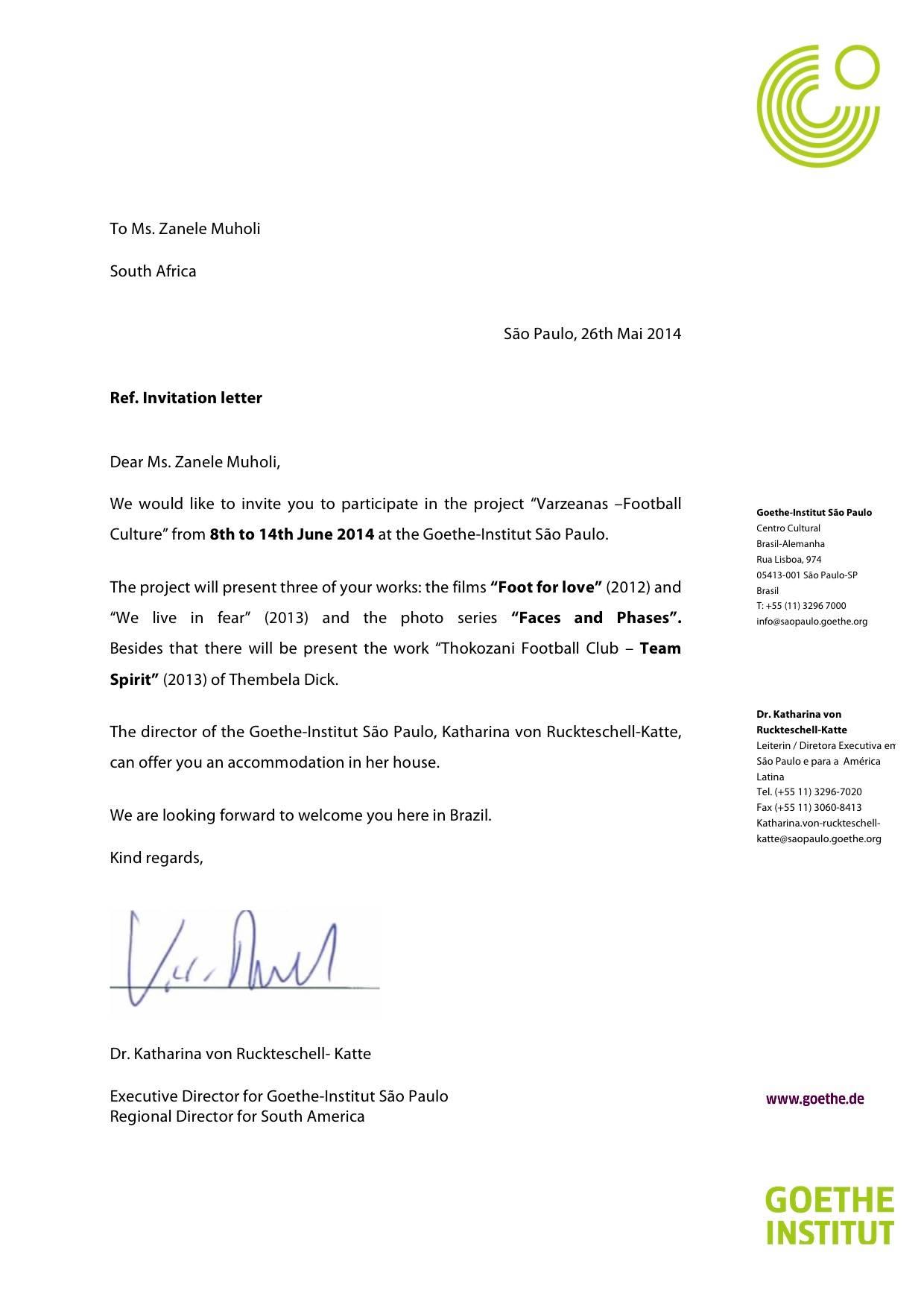 Vip Invitation Letter Template