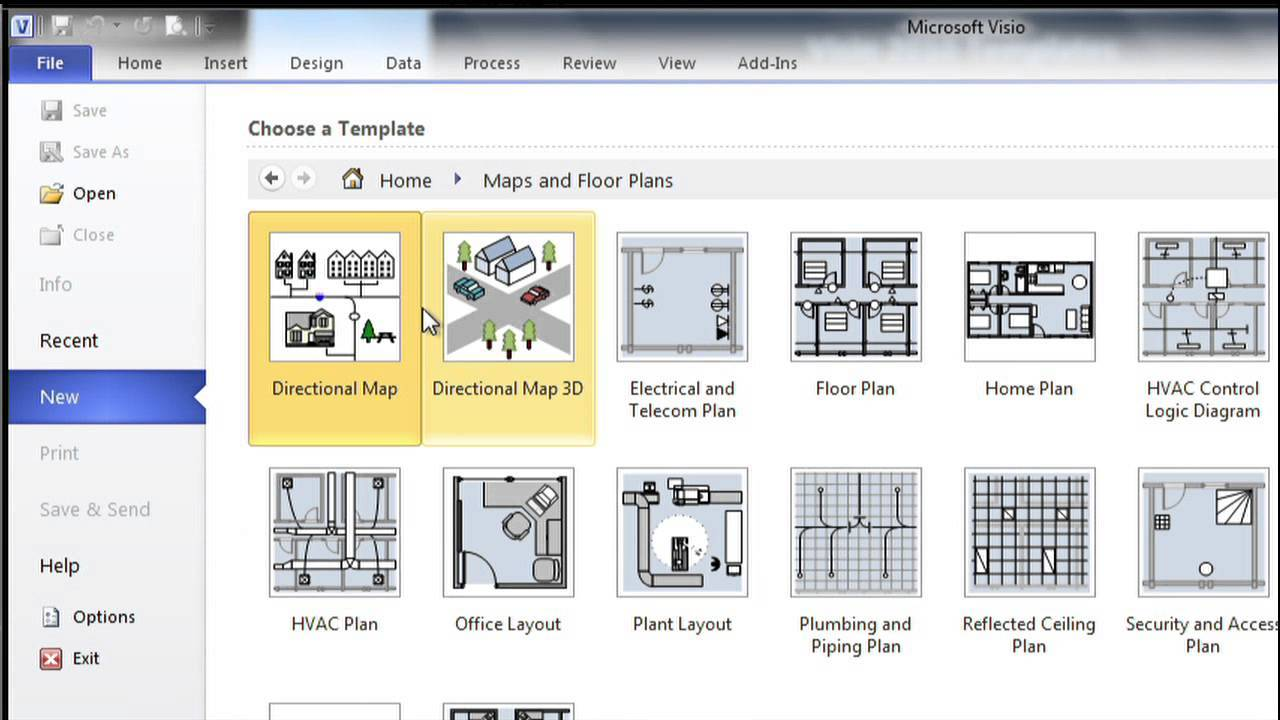 Visio 2010 Templates Location