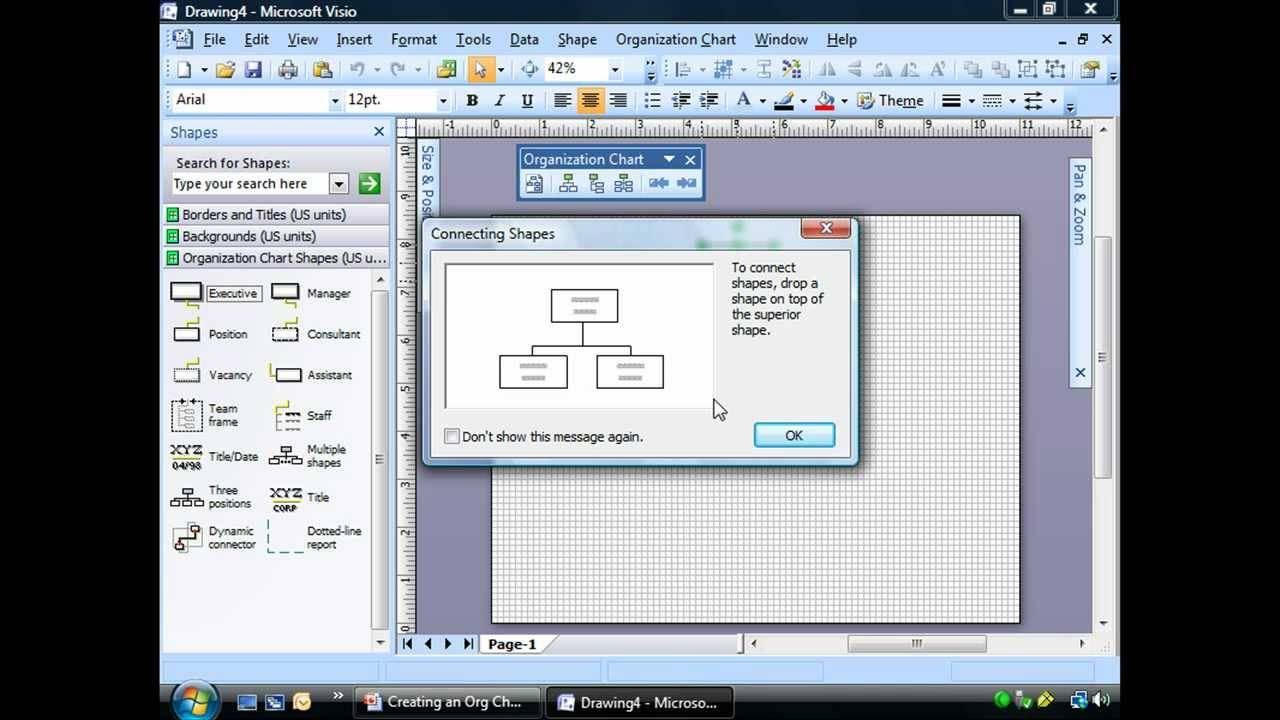 Visio 2013 Org Chart Shapes Without Pictures