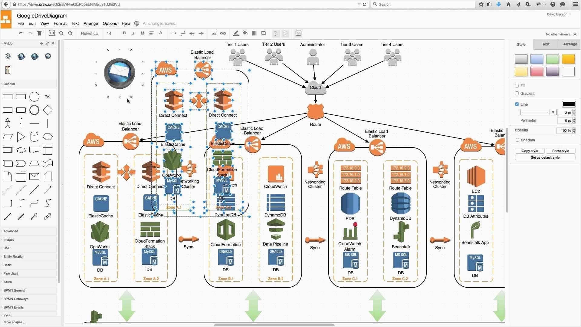 Visio Network Diagram Templates Free