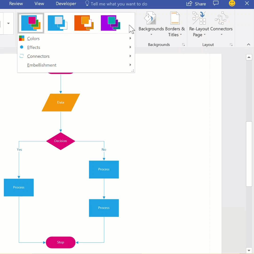 Visio Organization Chart Shapes Cannot Be Included In A Group Shape