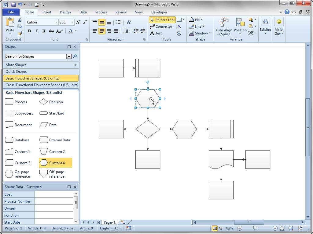 Visio Website Flowchart Template