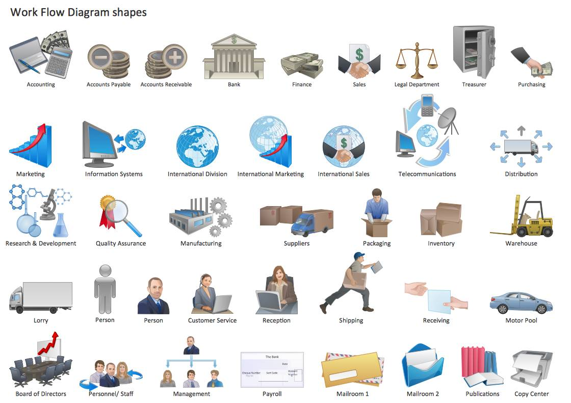 Visio Workflow Shapes