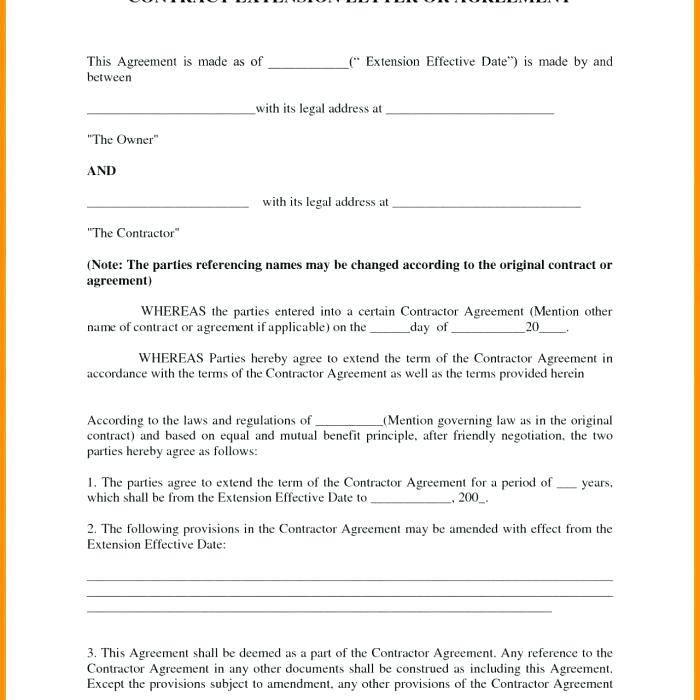 Visitation Agreement Template Uk