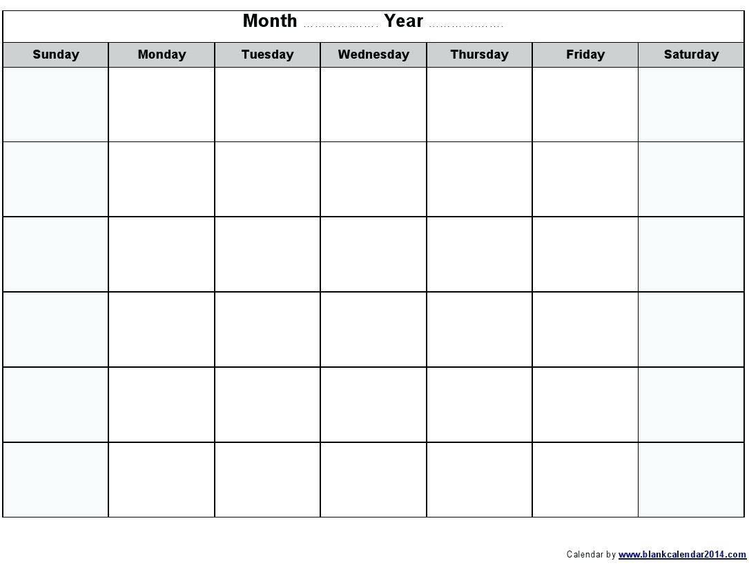 Visitation Calendar Template 2017