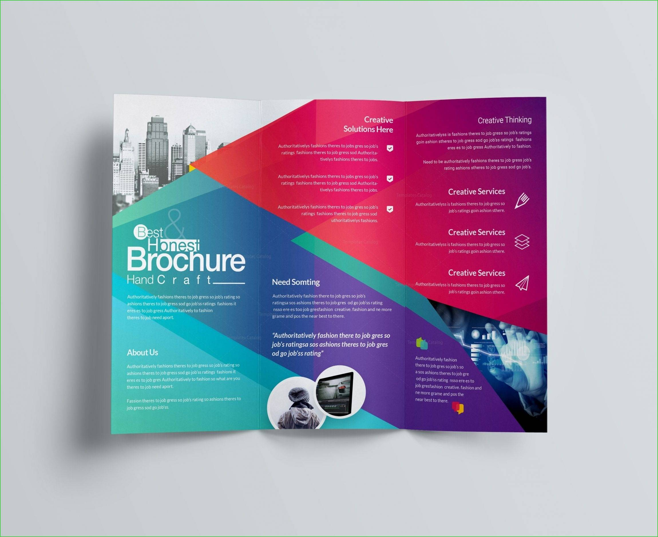 Vistaprint Brochures Template