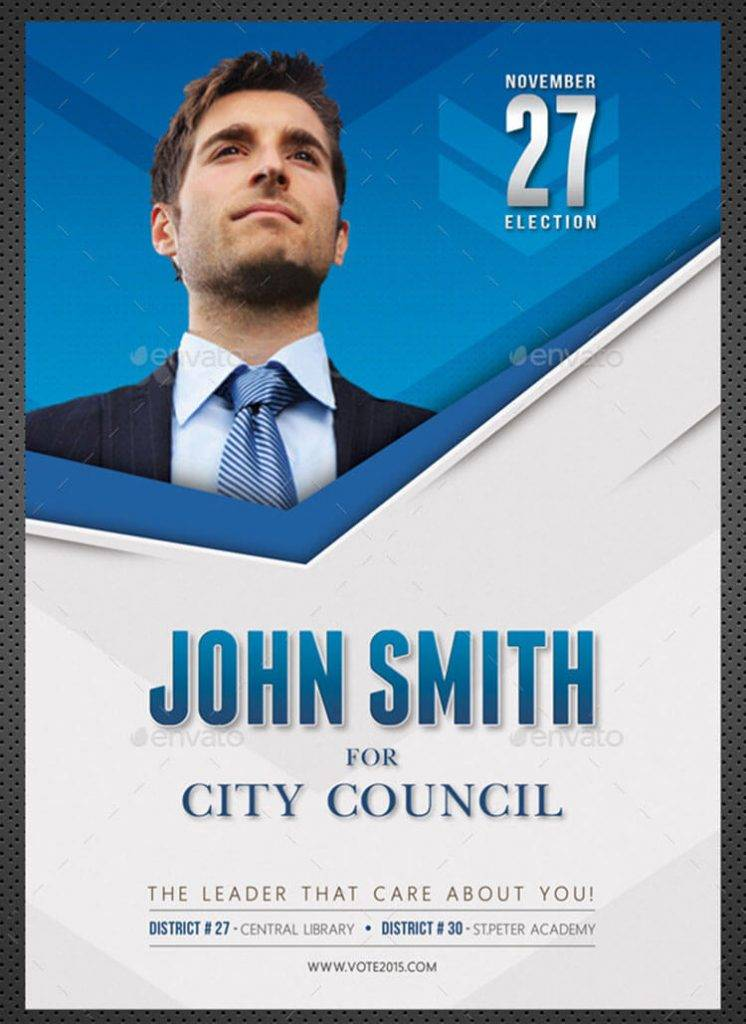 Vote Election Flyer Template Free