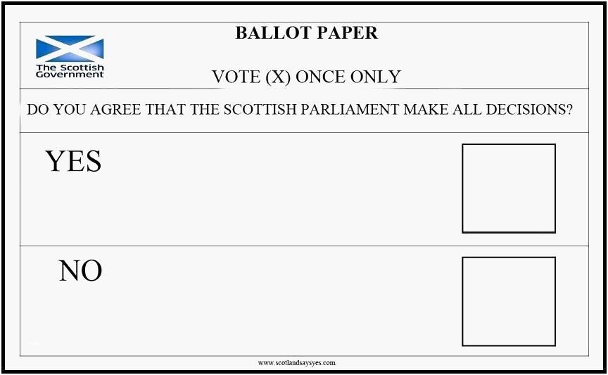 Voting Ballot Templates