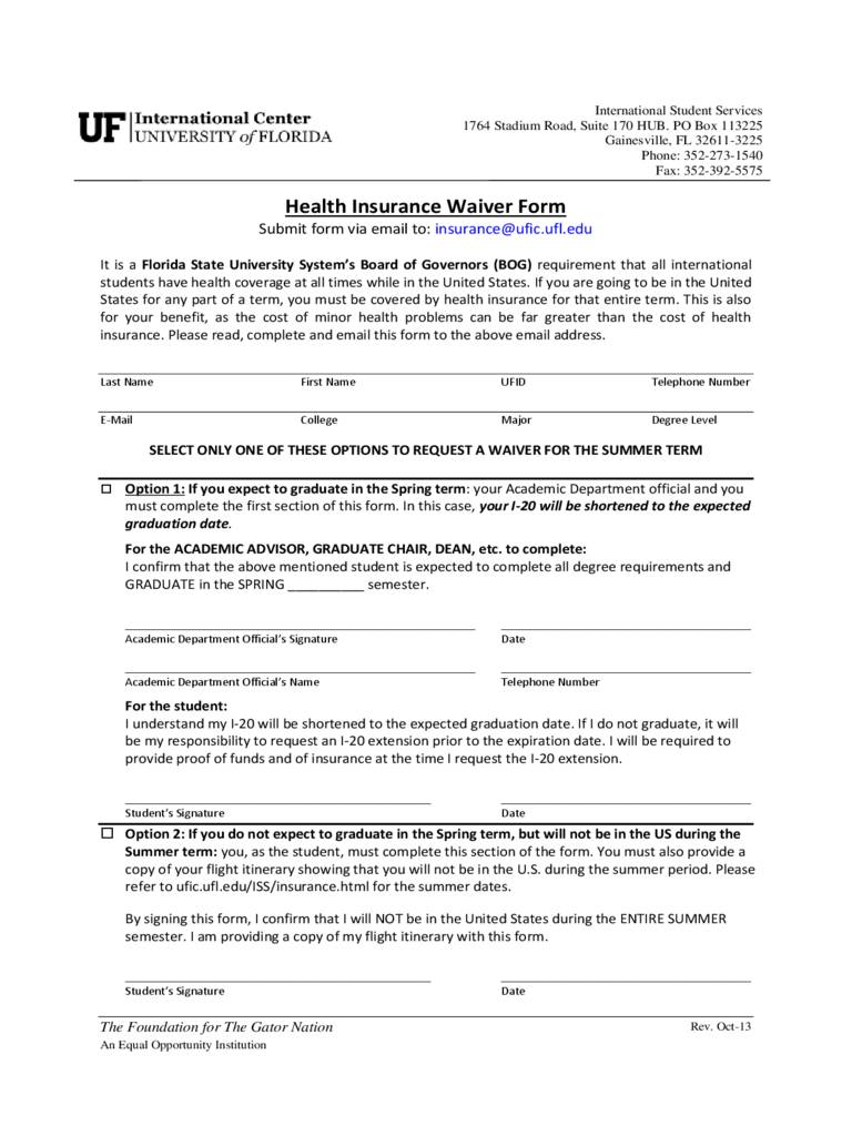Waiver Form Template Word