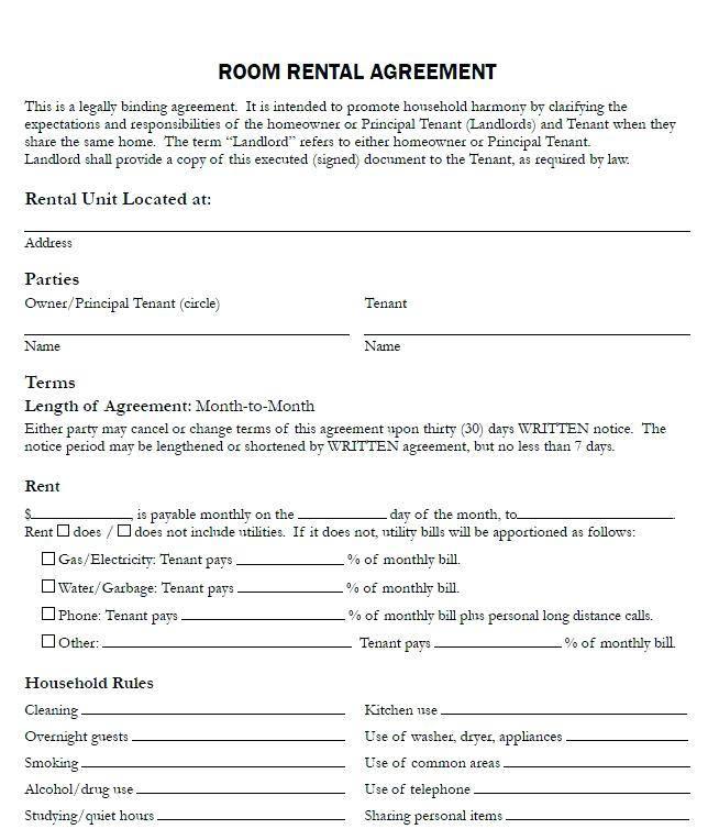 Warehouse Rental Agreement Template