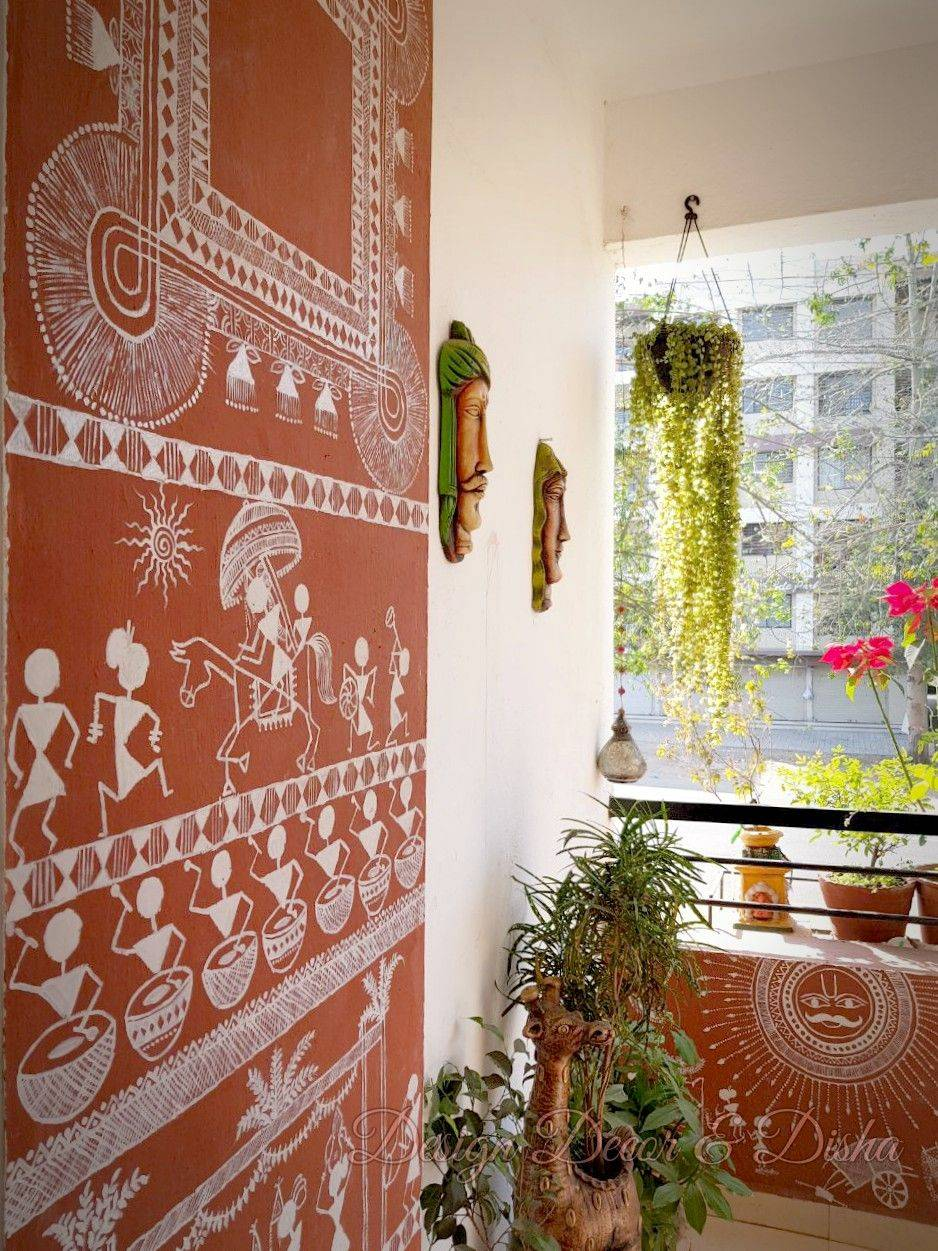 Warli Designs For Painting Walls