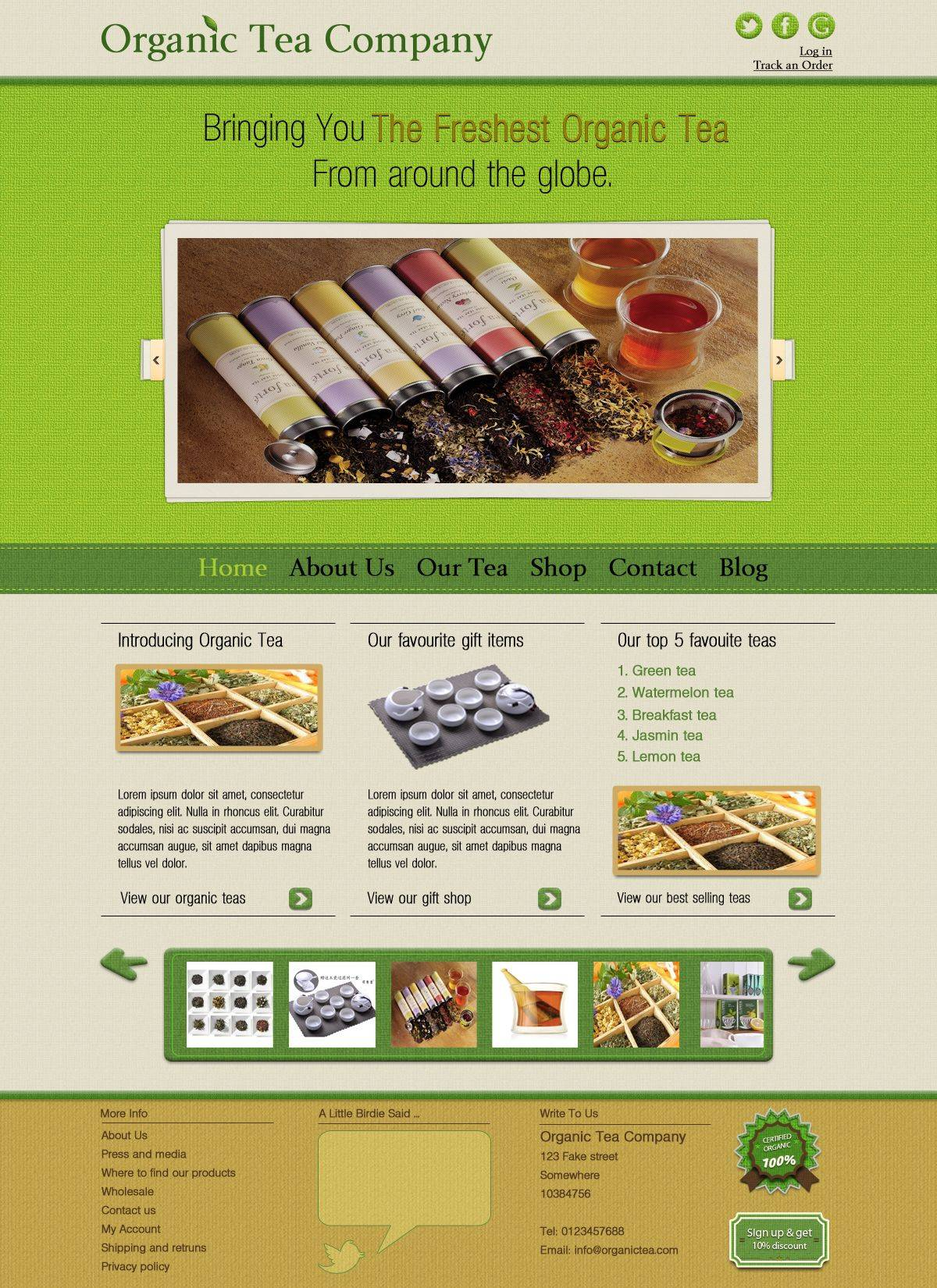 Web Design Layout Psd Free Download