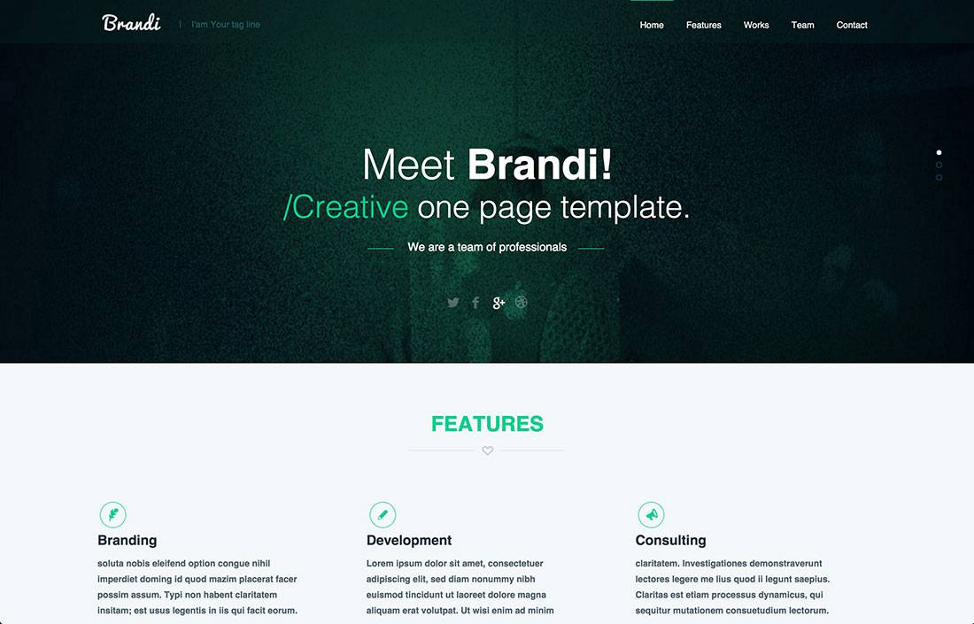 Web Page Templates Free Download