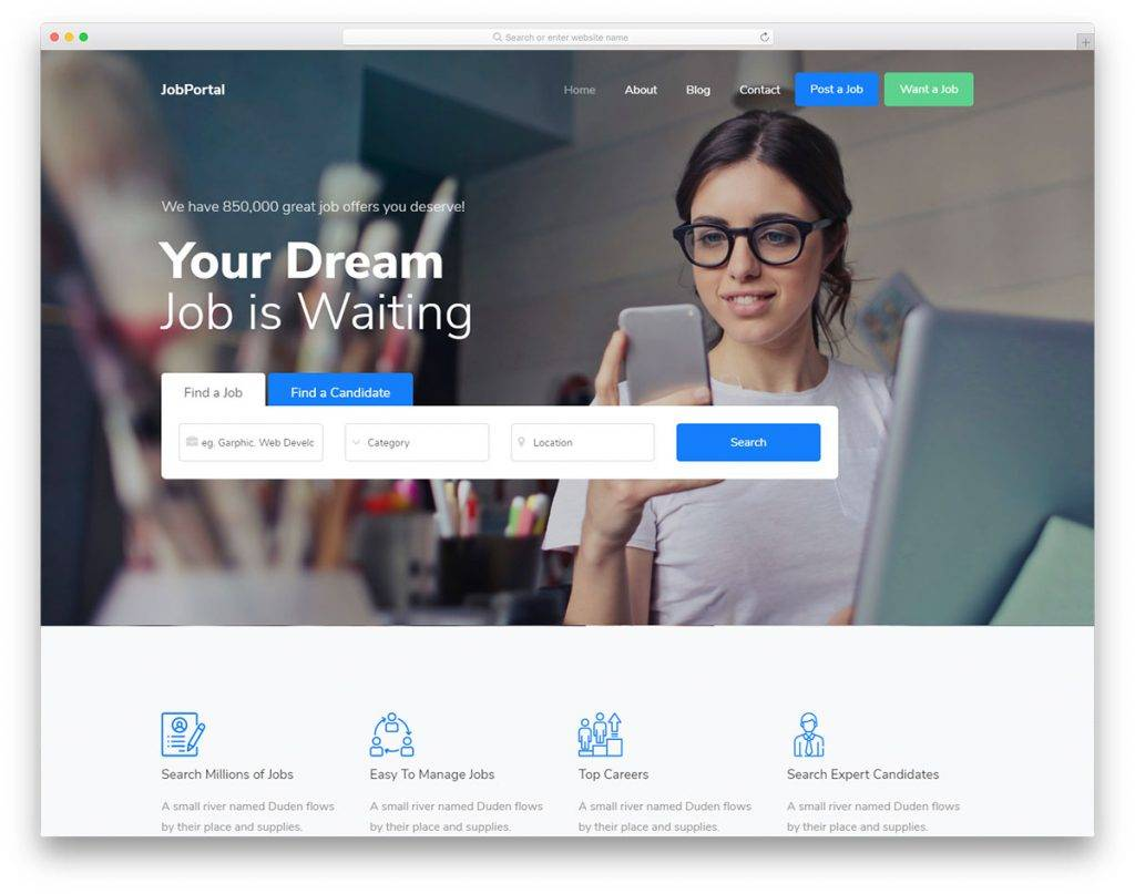 Website Layout Design Psd Files
