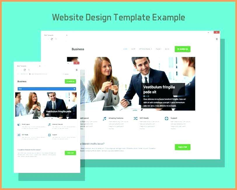 Website Mockup Template Photoshop