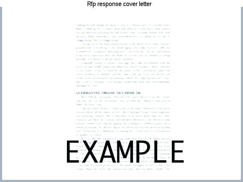 Website Rfp Response Template