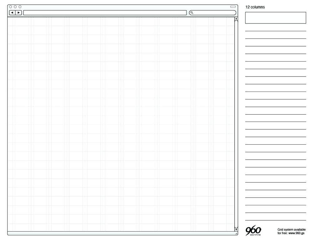 Website Wireframe Template Sketch