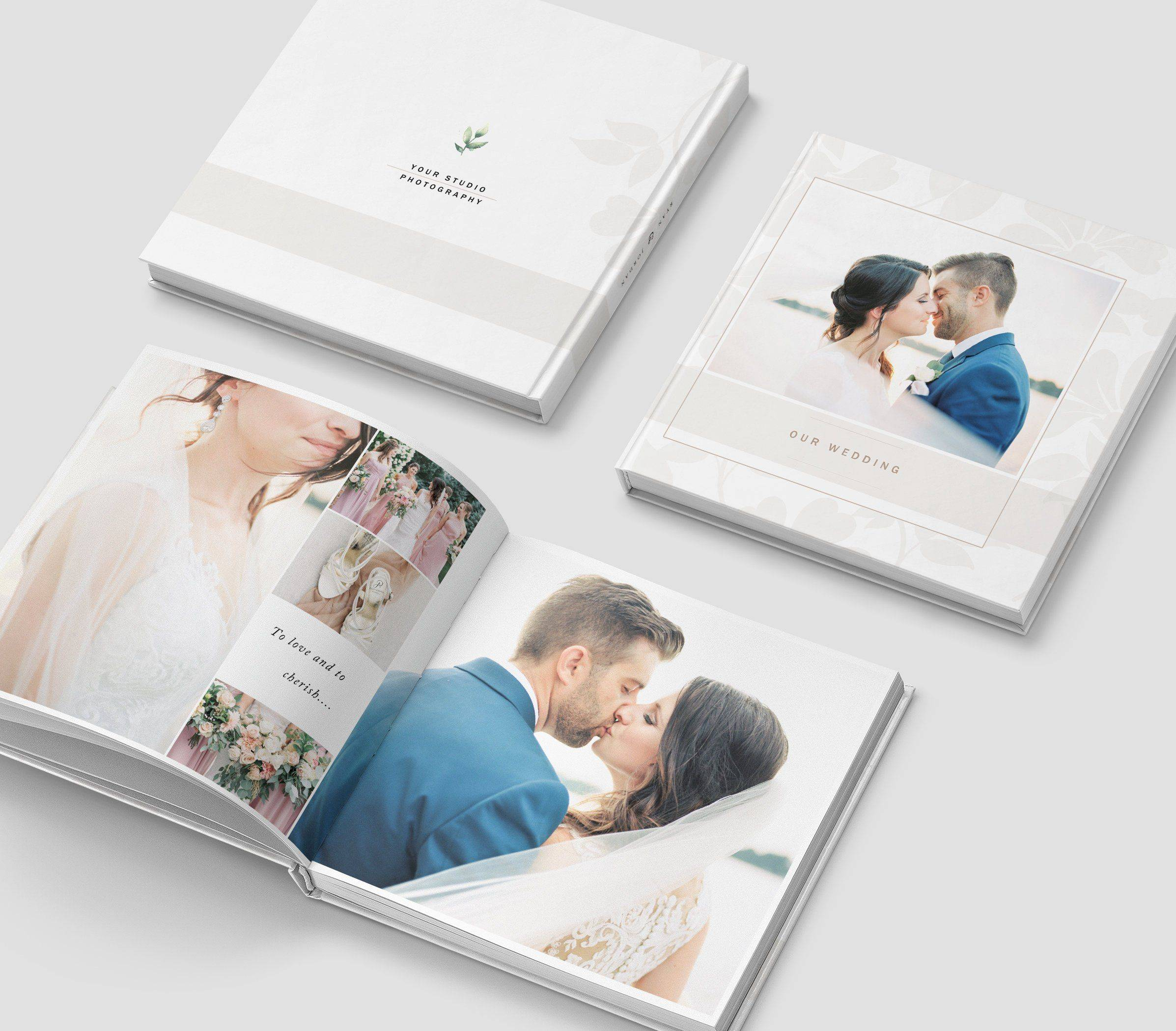 Wedding Album Photoshop Templates For Photographers