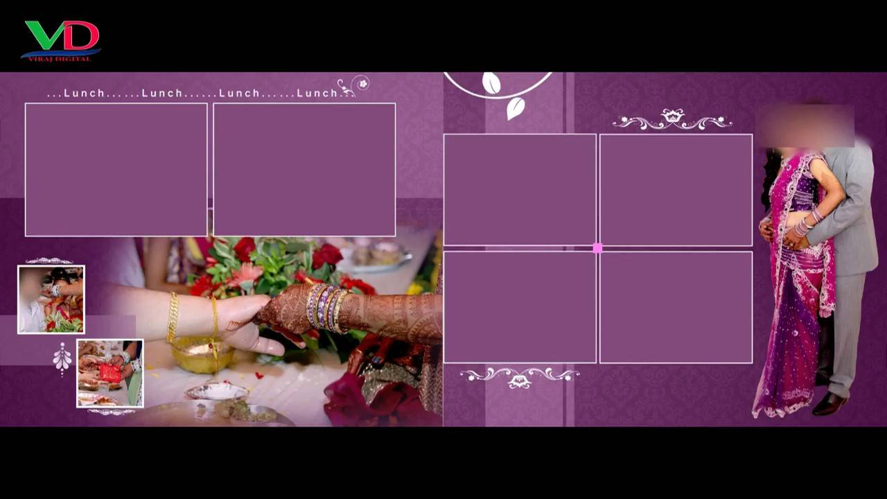 Wedding Album Templates For Photoshop Free Download