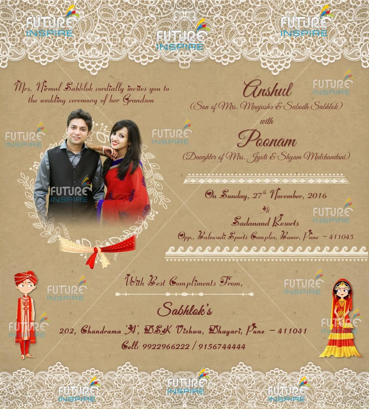 Wedding Invitation Templates For Whatsapp