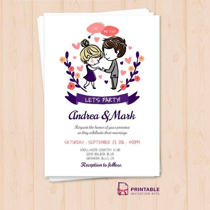 Wedding Invitation Templates Pinterest