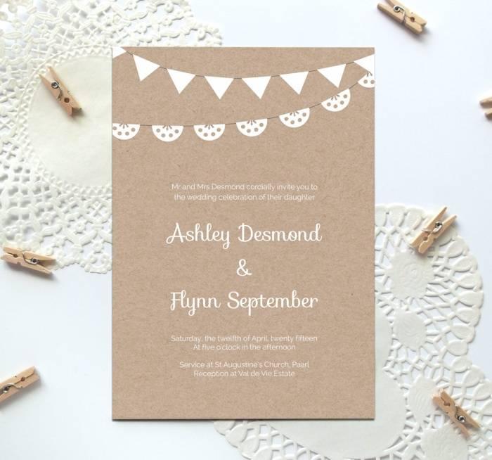 Wedding Invitation Templates Printable Free