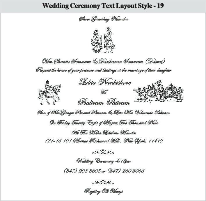 Wedding Invitation Wording Templates From Bride And Groom