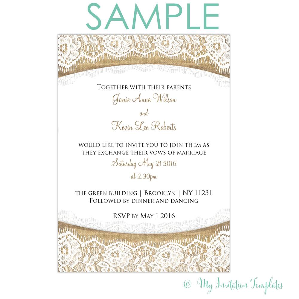 Wedding Invitation Wording Templates India