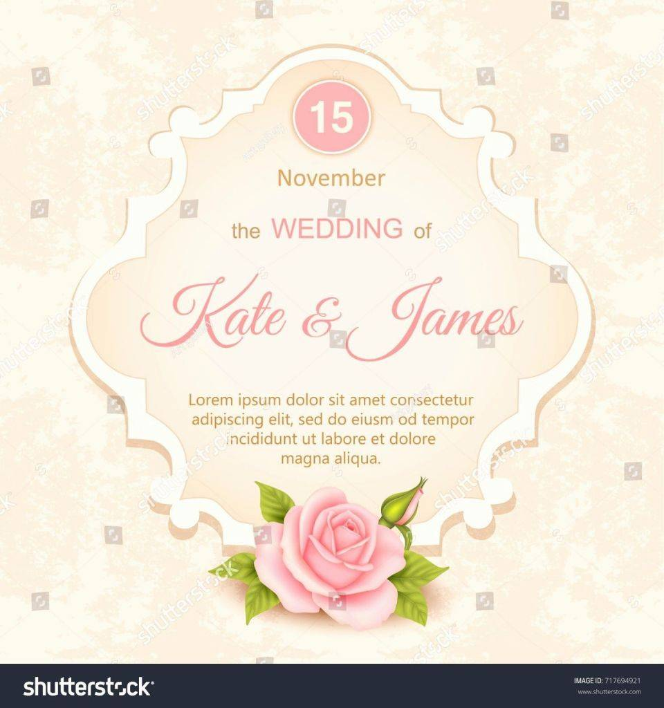 Wedding Invitation Wording Templates Microsoft Word