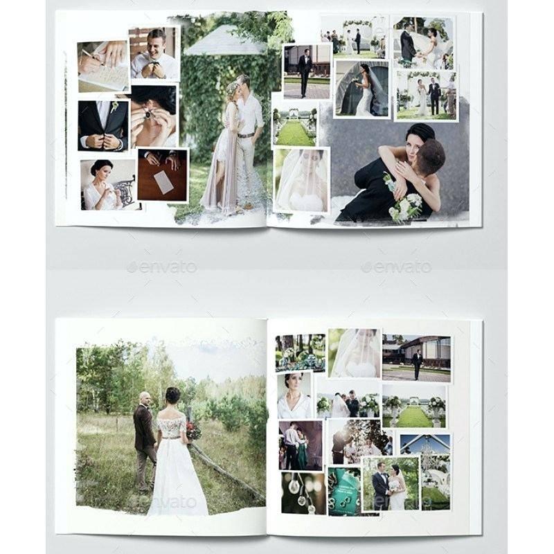 Wedding Photobook Template Free