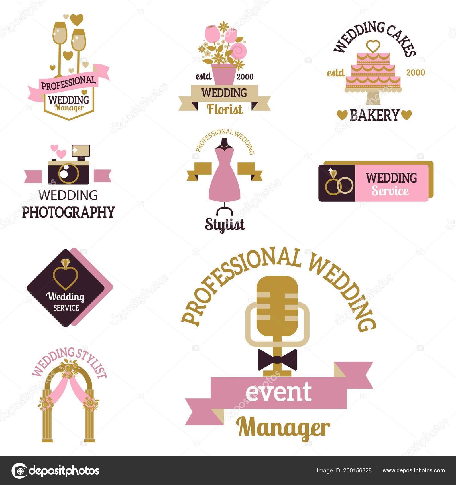 Wedding Photographer Logo Template