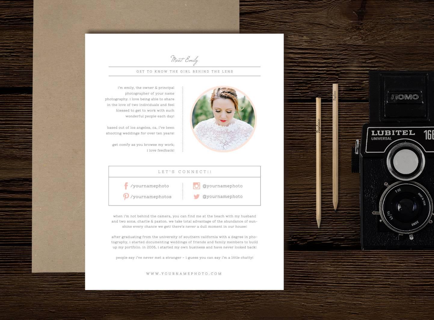 Wedding Photographer Marketing Templates