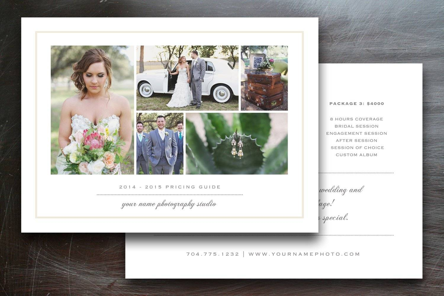 Wedding Photography Brochure Templates Free