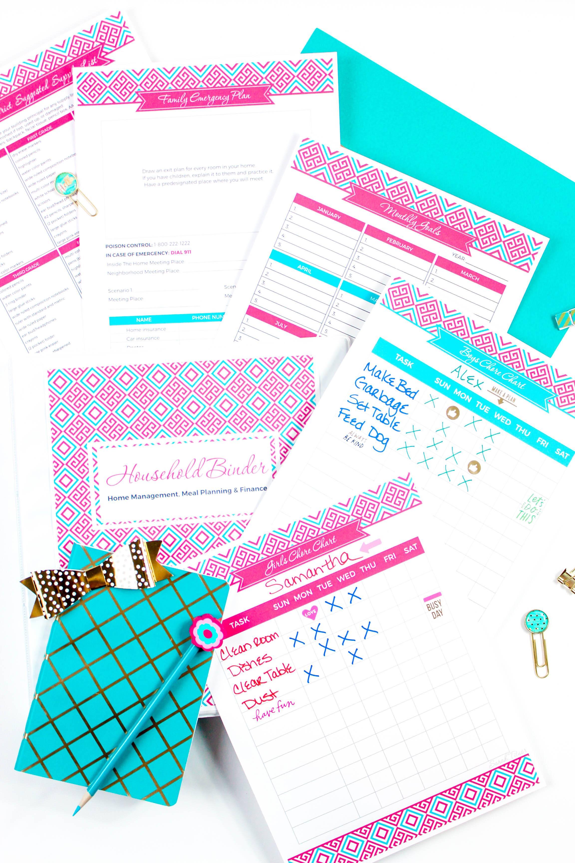 Wedding Planning Binder Templates