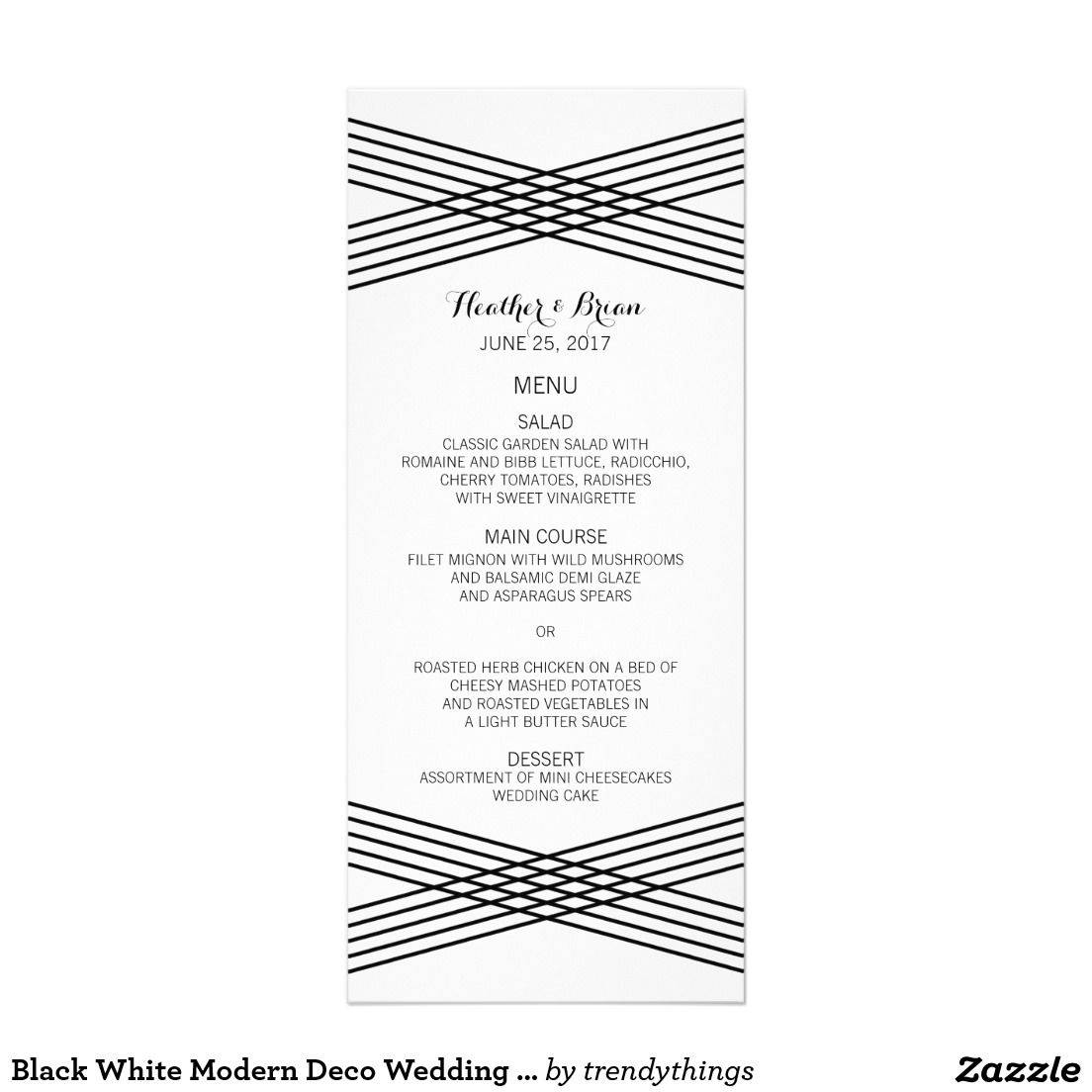 Wedding Program Templates Zazzle