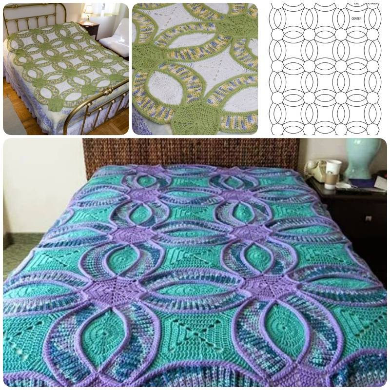Wedding Ring Quilt Pattern Crochet