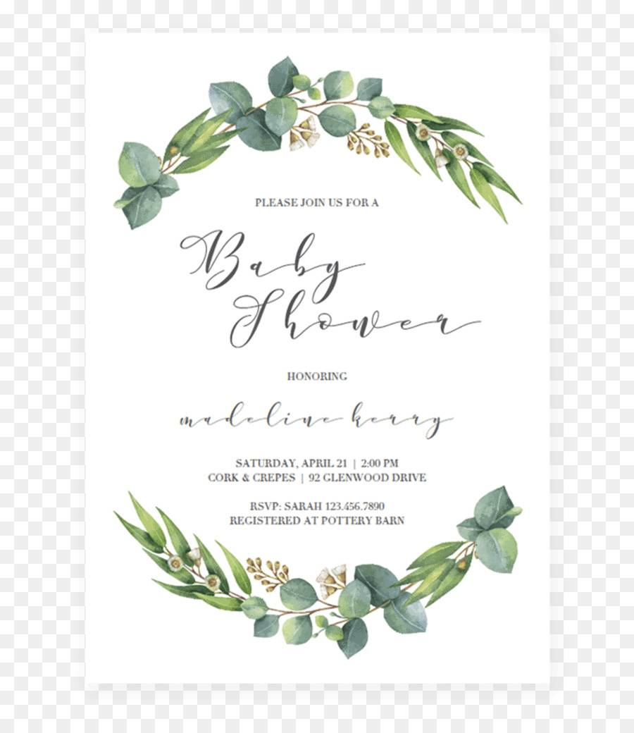Wedding Shower Invitation Template Microsoft Word