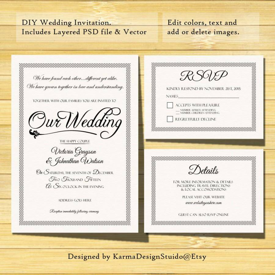 Wedding Shower Invitation Templates For Mac