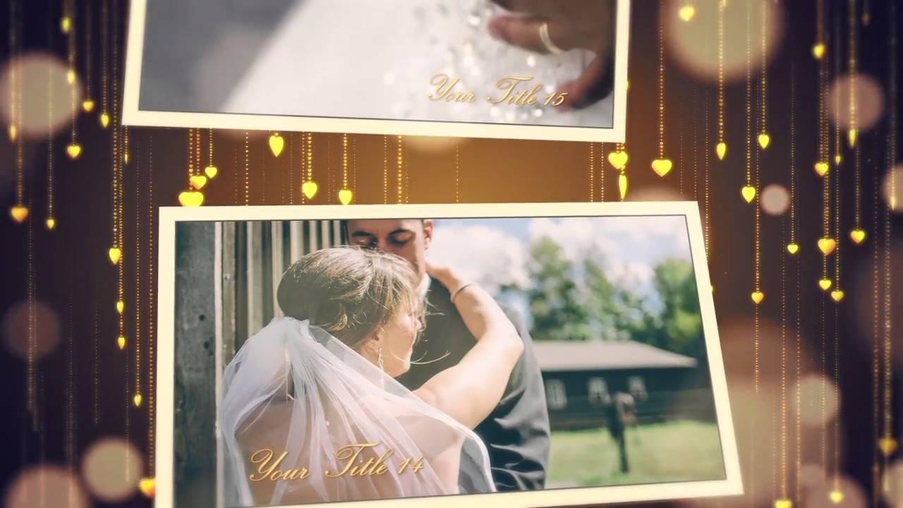 Wedding Slideshow Templates