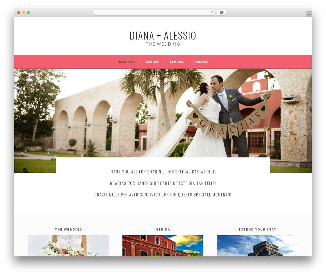 Wedding Template WordPress