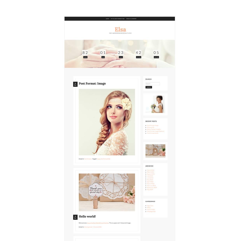 Wedding Templates WordPress Free