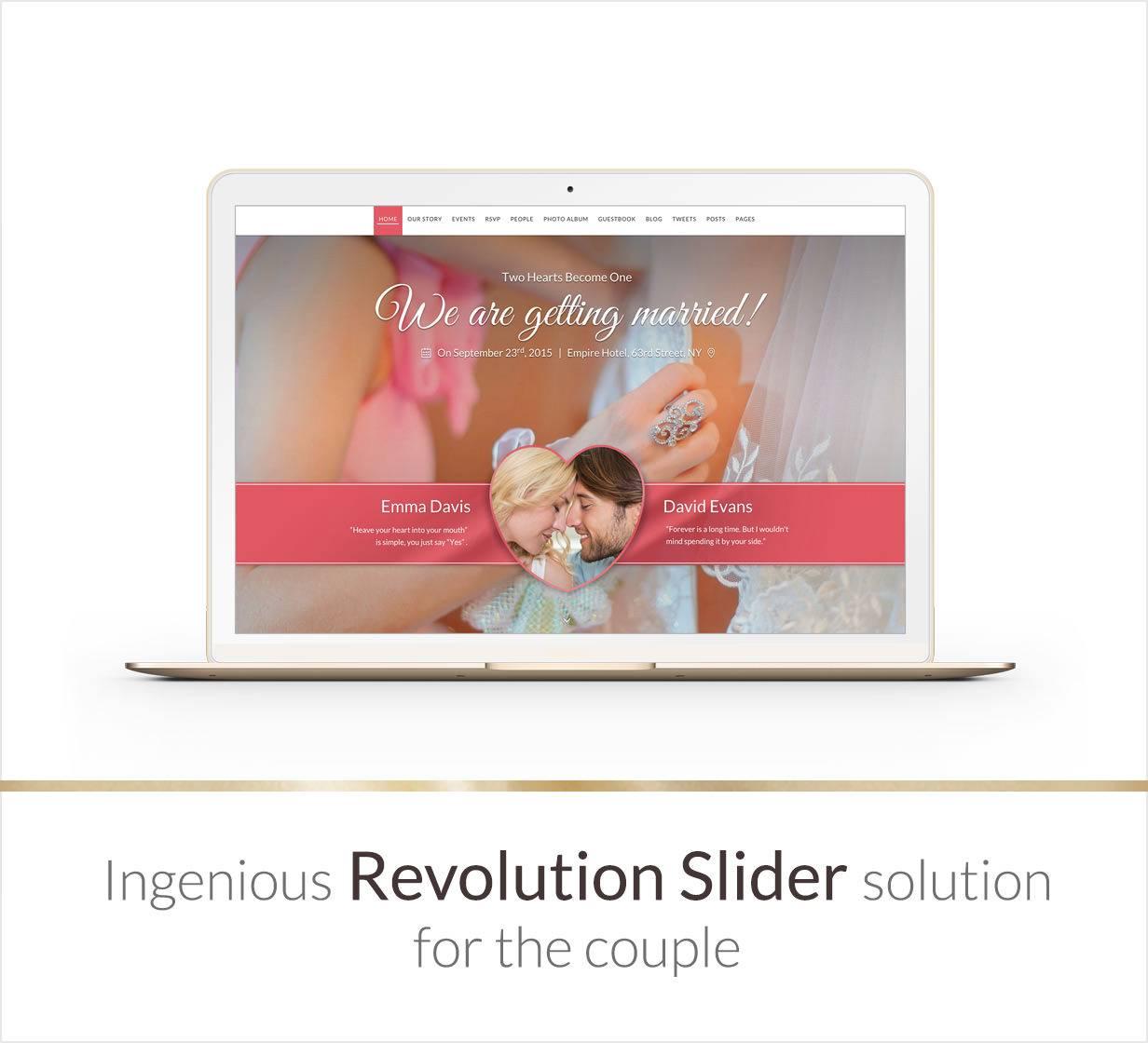 Wedding Theme WordPress Nulled