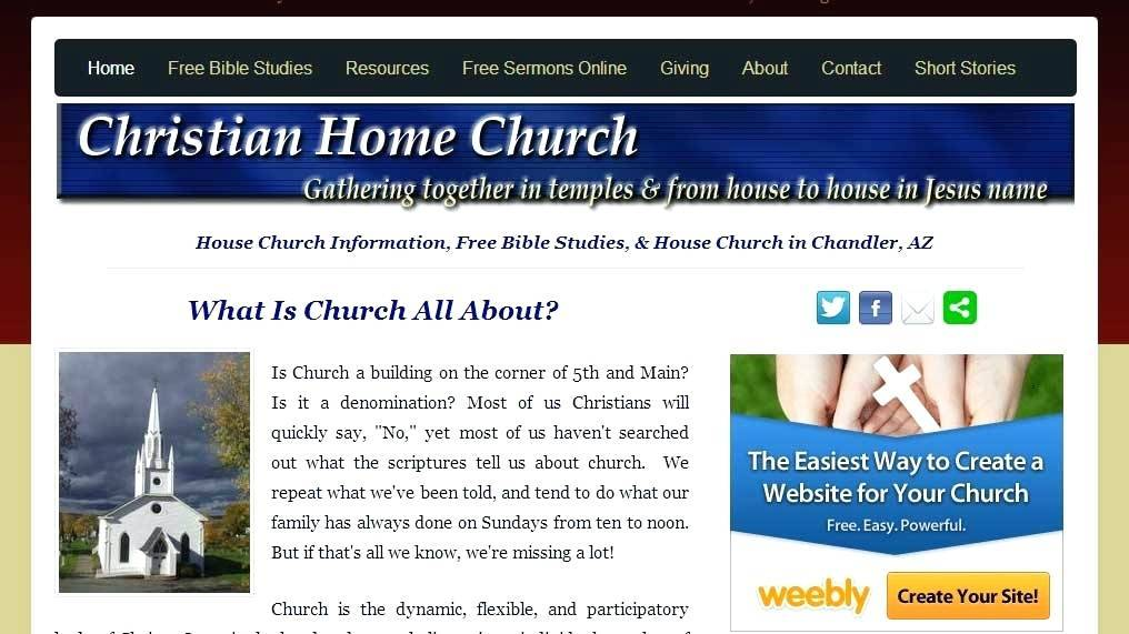 Weebly Church Themes